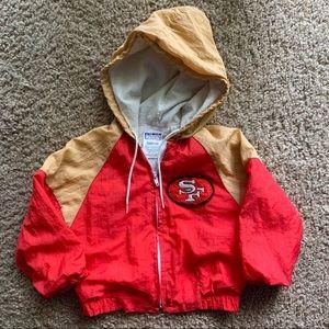 Rare vintage SF San Francisco 49ers Jacket 24 mo.